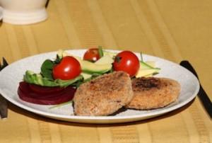 gluten free chicken rissoles